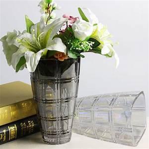 Gros Vase En Verre : nouveaux produits de gros vases en verre de vases de fleurs et de galvanoplastie vases en verre ~ Teatrodelosmanantiales.com Idées de Décoration