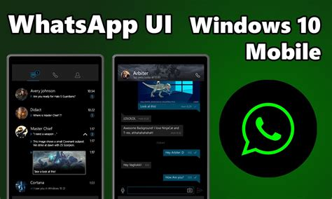 whatsapp beta update available for windows 10 mobile neurogadget