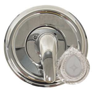 danco single handle valve trim kit in chrome for moen tub