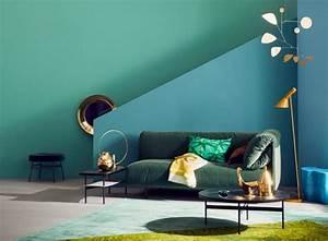 Schöner Wohnen Farbe Blau : petrol als wandfarbe so wird sie kombiniert sch ner wohnen ~ Frokenaadalensverden.com Haus und Dekorationen