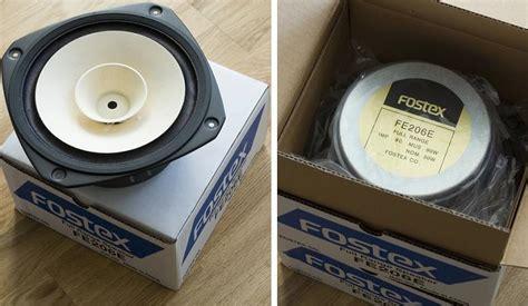 fostex fe206e fullrange loudspeaker driver