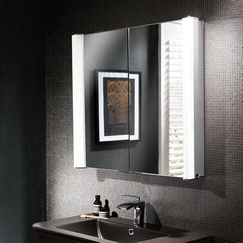 Illuminated Bathroom Mirror Cabinets Uk by Duo 800 Illuminated Mirrored Cabinet In Duo Luxury