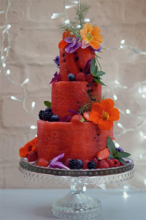 easy watermelon cakes     drool