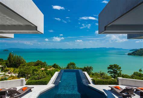 swimming pool area villa leelawadee phuket