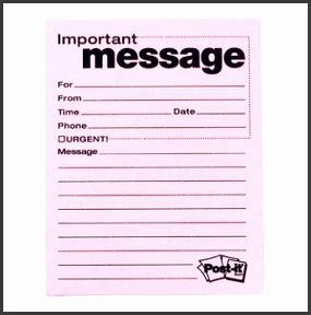 printable telephone message template sampletemplatess