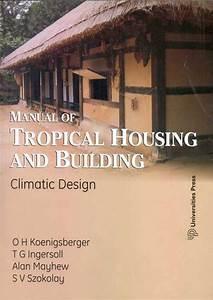 Manual Of Tropical Housing