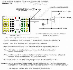 Basic Voltage Recorder Input Circuit
