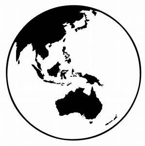 Earth Globe Oceania Clip Art at Clker.com - vector clip ...