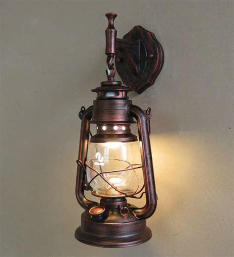 Kerosene Lantern Wicks Free Shipping by Fashion Antique Wall Lights Wrought Iron Vintage Lantern