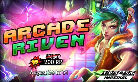Arcade Riven Skin Release