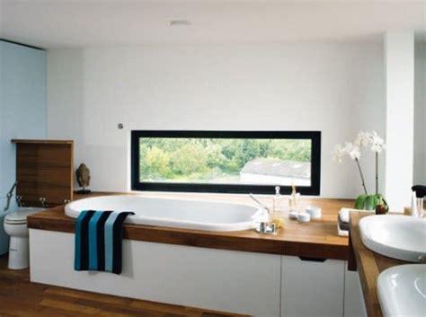 idee fenetre panoramique bathroom salle de bain