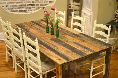woodwork wooden pallet table plans  plans