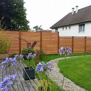 Cloture Jardin Bois : clotures de jardin en bois ~ Premium-room.com Idées de Décoration