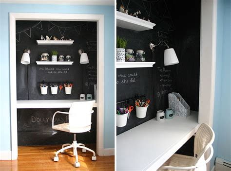 Creating A Small Home Office by Small Apartment Design Idea Create A Home Office In A Closet