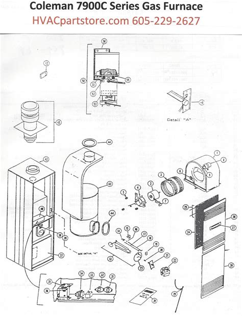 Coleman Gas Furnace Parts Tagged