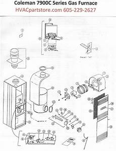Coleman Evcon Presidential 7900 C Series Wiring Diagram