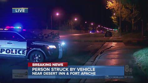Pedestrian critically injured in crash at DI, Fort Apache ...