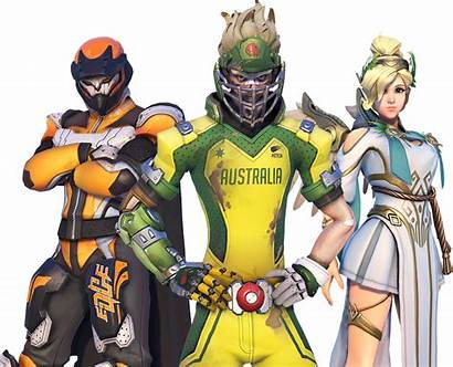 Overwatch Skins Summer Games Emotes Characters Player