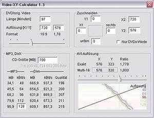 Parameter Berechnen : video xy calculator videoaufl sung und bitraten berechnen dr windows ~ Themetempest.com Abrechnung