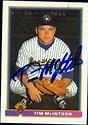 Tim McIntosh autographed Baseball Card (Milwaukee Brewers ...