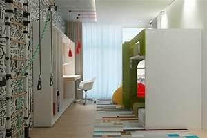 Klettern Im Kinderzimmer : raumgestaltung ideen in grau 5 moderne appartements ~ Michelbontemps.com Haus und Dekorationen