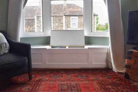 Living Room Storage Seat by How To Build A Bay Window Seat With Storage