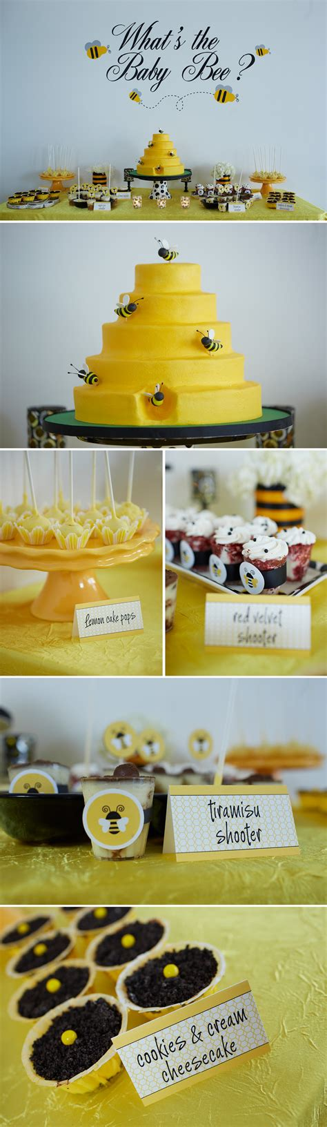 baby shower bee theme bumble bee themed gender reveal party the celebration