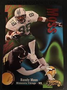 Randy Moss 1998 Skybox Thunder Rookie Card 242 Archives