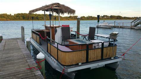 Tiki Bar Boat by Pontoon Tiki Boat Yamaha Motor And Trailer Custom