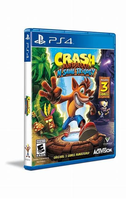 Crashbandicoot Crash Case Bandicoot Changed Box Trilogy