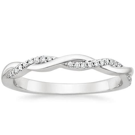 Petite Twisted Vine Diamond Ring  Brilliant Earth