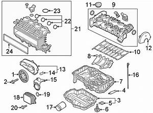 2019 Volkswagen Golf Engine Valve Cover Gasket  Liter