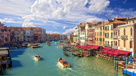 the of the grand canal in venice italy