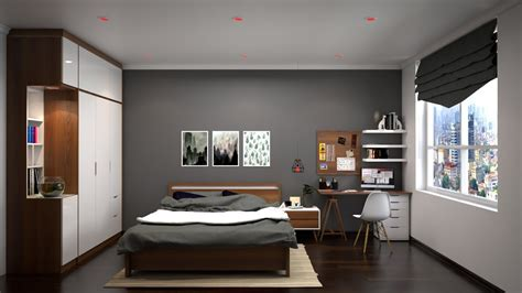 Nice Bedroom (017) Render With Vray 3.4