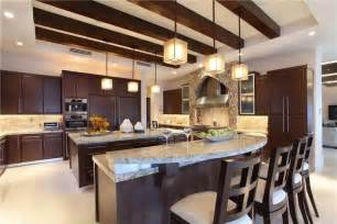 granite top kitchen island with seating 27 luxury kitchens that cost more than 100 000