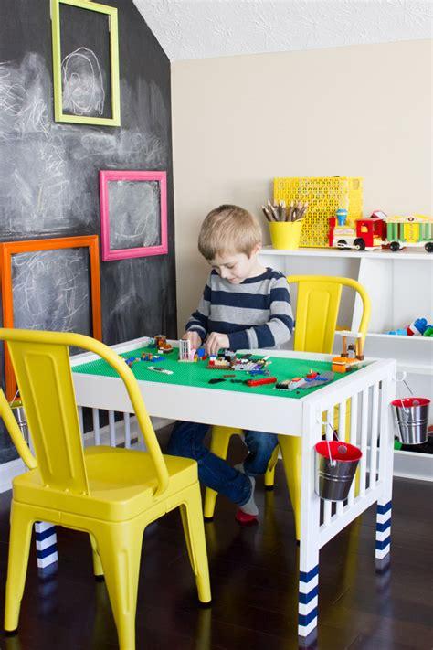 Ikea Hack Kinderzimmer Lego by Diy Lego Table Ikea Hack Erin Spain