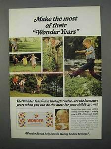 1966 Wonder Bread Ad - Make The Most of Wonder Years