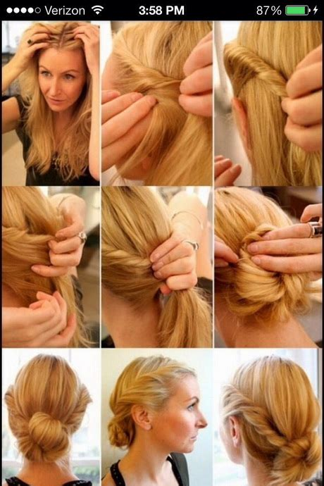easy style for hair hairstyles 5720