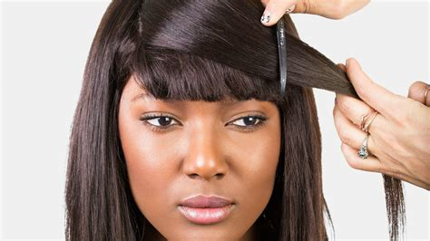 Some Categories Of Weave Hairstyles With Bangs