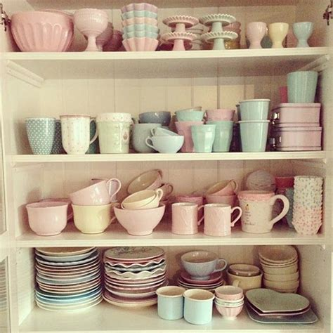 pastel coloured kitchen accessories pastel pink colored decor ideas for a peaceful mind 4104