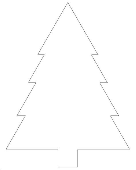 printable christmas tree templates christmas tree
