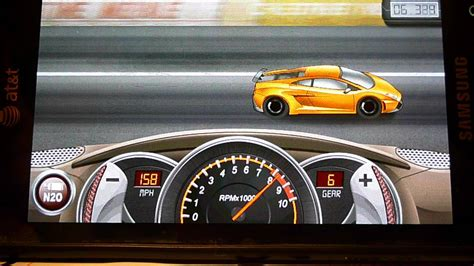 Drag Racing Game Lamborghini Gallardo Level 7