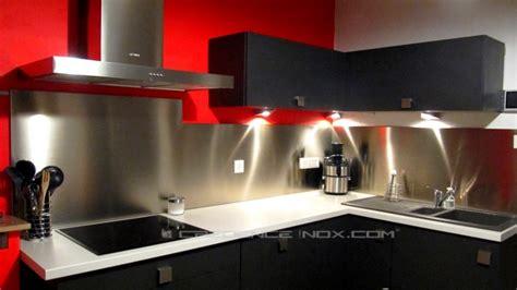 credence inox cuisine ikea décoration cuisine