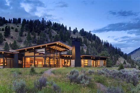montana river bank modern sustainable home idesignarch interior design architecture