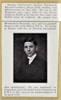 Michael Heath-Caldwell M.Arch - 1915 General Frederick
