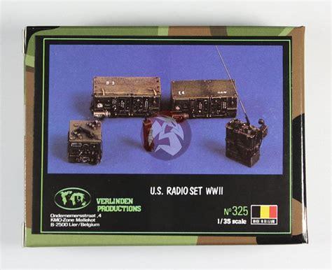 Verlinden 1/35 Us Army Radio Set Wwii (5 Different Types