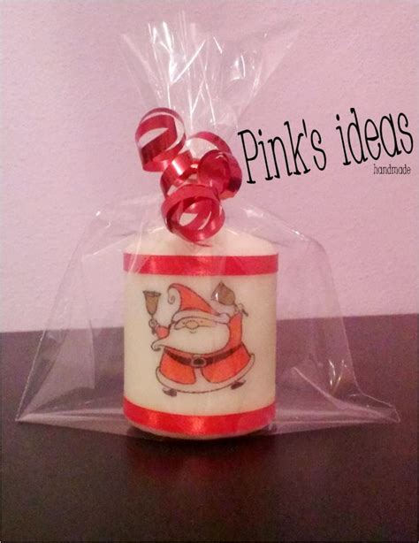natale candele pink s ideas candele personalizzate