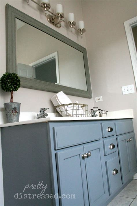 hometalk bathroom oak vanity makeover  latex paint