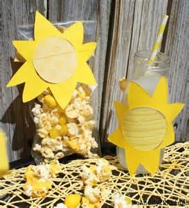sunshine party decorations