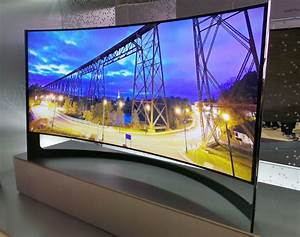Tv Led Samsung 21  9 105 U0026quot  Courbe   La Photo Du Produit Au